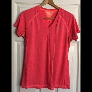 Marika Tek Pink/Orange Workout Short Sleeve Short